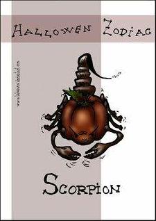 скорпион хэллоуин