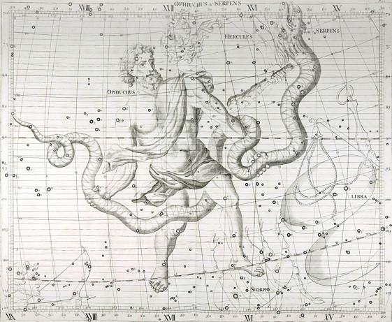 Астрологическая информация о Змееносце